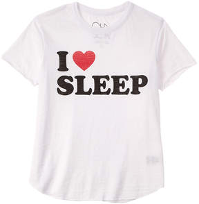 Chaser Girls' I Heart Sleep T-Shirt