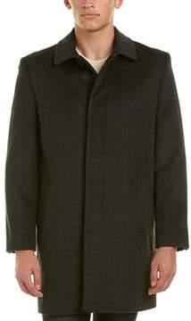 Hart Schaffner Marx Turner Wool-blend Coat.