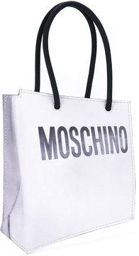 Moschino shopper illusion clutch bag