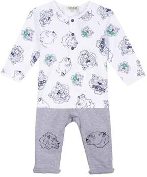 Kenzo Tiger Face Print T-Shirt & Pants Set
