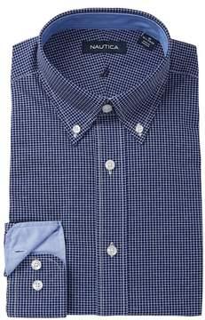Nautica Small Check Classic Fit Dress Shirt