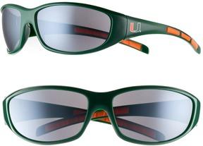 NCAA Adult Miami Hurricanes Wrap Sunglasses