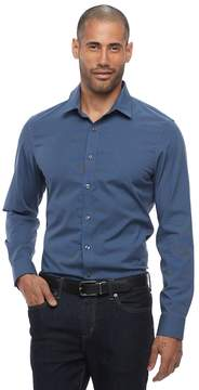 Apt. 9 Big & Tall Slim-Fit Stretch Button-Down Shirt