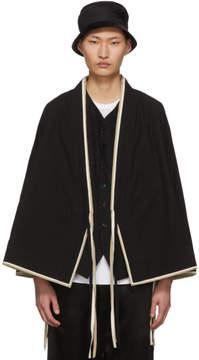 SASQUATCHfabrix. Black Sensou Jinbei Kimono Shirt