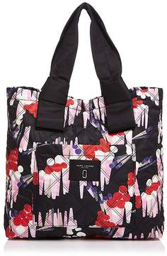 Marc Jacobs Geo Spot Printed Knot Tote - BLACK MULTI - STYLE
