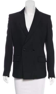 BLK DNM Structured Wool-Blend Blazer
