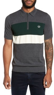Fred Perry Men's Colorblock Polo