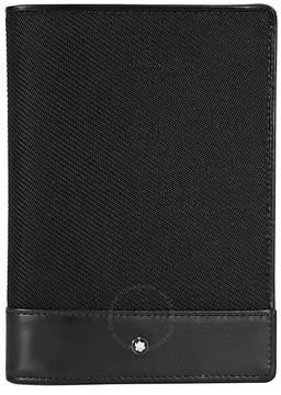 Montblanc Nightflight Passport Holder- Black