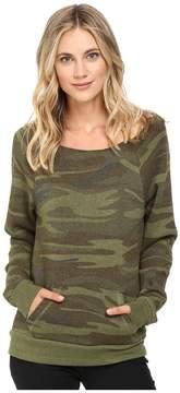 Alternative Maniac Printed Fleece Sweatshirt Women's Sweatshirt