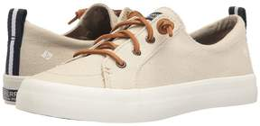 Sperry Crest Vibe Washed Linen Women's Lace up casual Shoes
