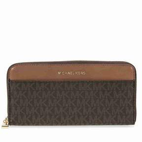 Michael Kors Mercer Signature Logo Wallet - Brown - BROWN - STYLE