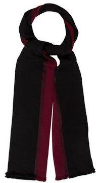 Balenciaga Wool Colorblock Scarf