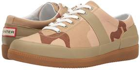 Hunter Original Sneaker Hi Canvas Desert Camo Men's Shoes