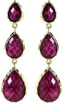 Amrita Singh Amethyst & Goldtone East Hampton Drop Earrings