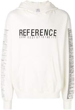 Yang Li slogan print hoodie
