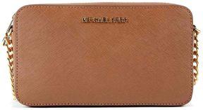 Michael Kors Jet Set Travel Medium Shoulder Bag - BROWN - STYLE