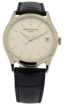 Patek Philippe Calatrava 5296G 18K White Gold Mens 38mm Watch