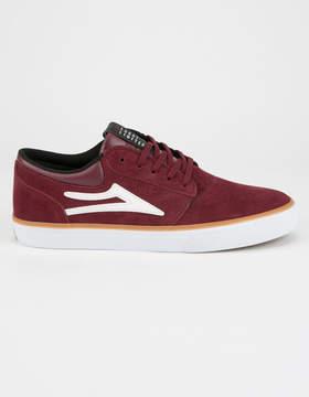 Lakai Griffin Burgundy Mens Shoes