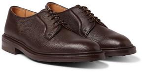 Tricker's Fenwick Pebble-Grain Leather Derby Shoes