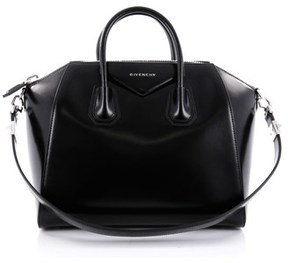 Givenchy Pre-owned: Antigona Bag Glazed Leather Medium.