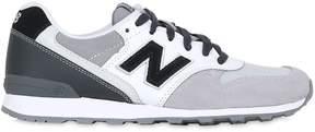 New Balance 996 Nylon & Suede Sneakers
