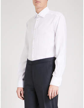 Eton Pinstriped contemporary-fit cotton shirt