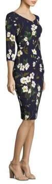 Escada DupelaFloral-Print Dress