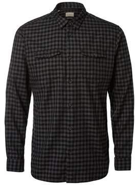Selected Men's Grey Cotton Shirt.