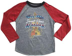 Rowdy Sprout Boy's Sweet Home Alabama Raglan Tee