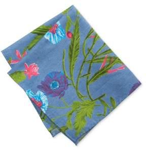 Tommy Hilfiger Mens Floral Pocket Square Blue One Size