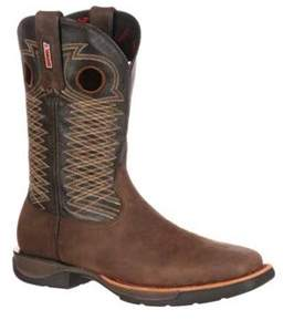 Rocky Men's 11 Lt Square Toe Western Boot Rkw0138.