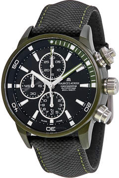 Maurice Lacroix Pontos S Extreme Black Dial Men's Watch