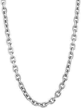JCPenney FINE JEWELRY Mens Stainless Steel 22 7mm Rolo Chain