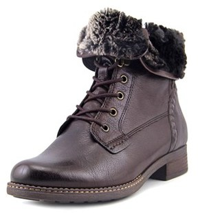 Gabor 92.781 W Round Toe Leather Ankle Boot.