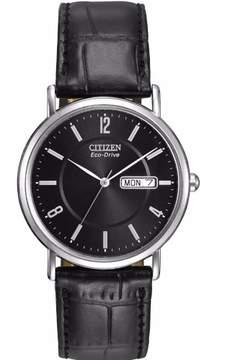 Citizen Men's Strap BM8240-03E Black Analog Eco-Drive 11 Men's Watch