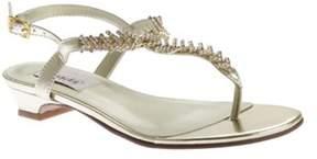 Dyeables Women's Sarah T-strap Sandal.