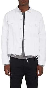 Officine Generale Men's Frayed Denim Jacket