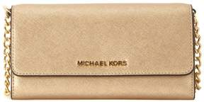 Michael Kors Jet Set Golden Leather Pochette - ORO - STYLE