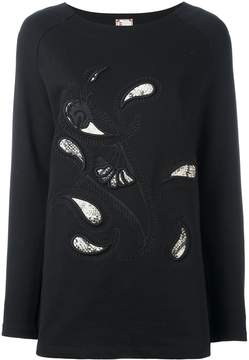 Antonio Marras embroidered paisley sweatshirt