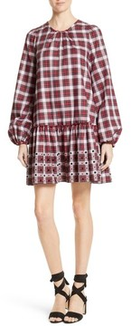 N°21 Women's N?21 Crystal Embellished Plaid Dress