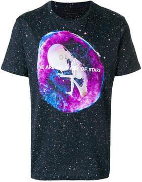 Frankie Morello alien print T-shirt