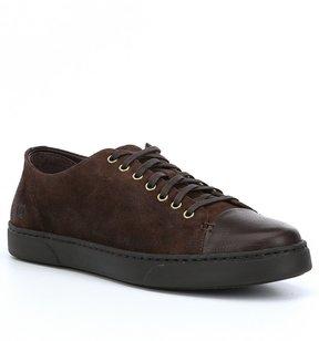 Børn Mens Bayne Leather and Suede Sneakers
