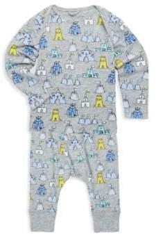 Stella McCartney Baby's Two-Piece Buster& Macy Sandcastle-Print Cotton Top& Pants Set
