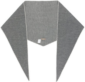 N.Peal patterned triangular scarf