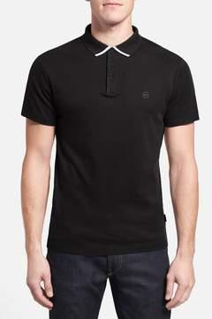 AG Jeans The Fade Short Sleeve Polo
