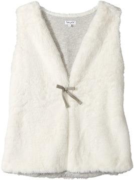 Splendid Littles Faux Fur Vest Girl's Vest