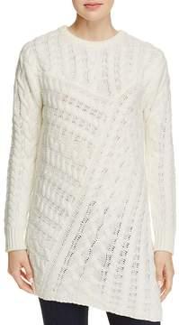 En Creme Cable-Knit Sweater