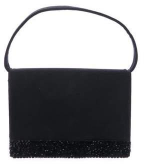 Stuart Weitzman Canvas Embellished Mini Handle Bag