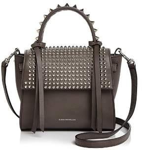 Elena Ghisellini Angel Extra Small Punky Leather Satchel