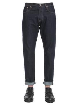 Kitsune Raw Big K Jeans